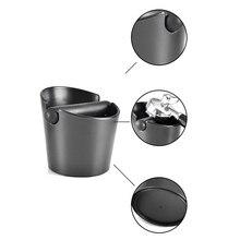 ABS Coffee Knock Box Espresso Grounds Container for Barista + Non-slip Base