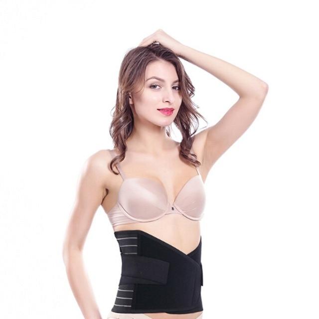 Abdominal Shaping Belt For Women Postpartum Waist Slimming Body Shaper Tummy Tuck Girdles Sports Sweat Belts Underwear Corsets 3