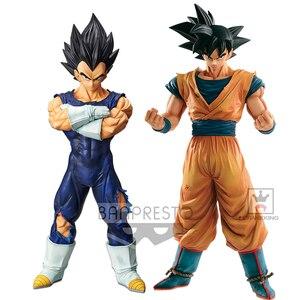 Image 1 - Tronzo figura de acción de Dragon Ball Super Grandista, Vegeta, Goku, pelo negro, modelo de PVC, GROS, DBZ, SSJ, juguetes de regalo