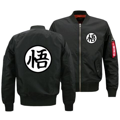 Long Sleeve Dragon Ball Men 3d Zipper Jackets Wukong Cosplay Winter Autumn Jackets Loose Tees Tops Male Jackets Plus Size S-5XL Pakistan