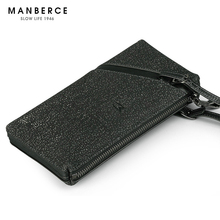 MANBERCE 2019New Genuine Leather Handbag Soft Bag the Head of for Korean Fashion Mens Free Shipping