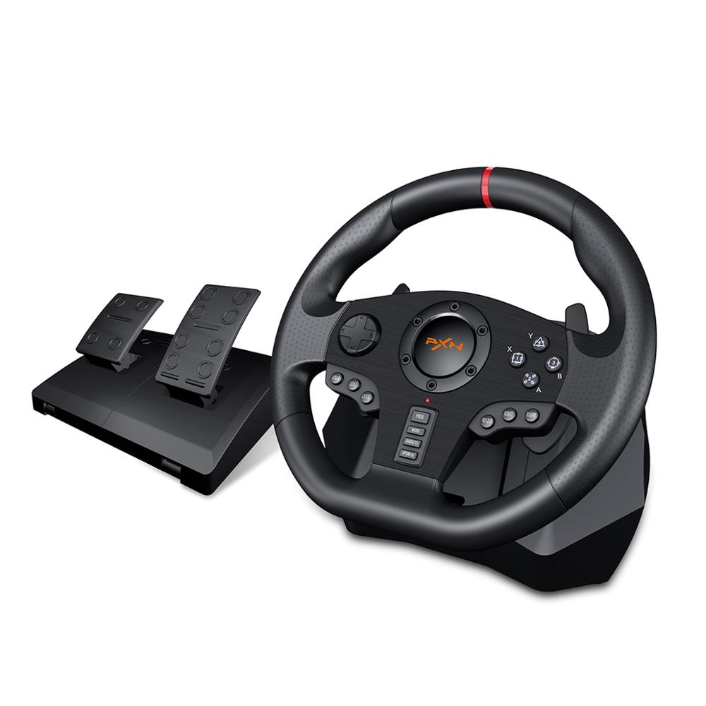 PXN V900 Gamepad Controller Gaming Steering Wheel 900° Racing Video Game Vibration For PC/PS3/4/Xbox-One/Xbox 360/N-Switc 1