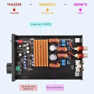 Image 4 - AIYIMA TPA3255 مكبر كهربائي 300Wx2 فئة D ستيريو الصوت الرقمي أمبير HiFi 2.0 مكبر صوت المتكلم المسرح المنزلي لتقوم بها بنفسك