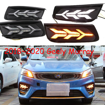 2018~2020year for Geely Emgrand daytime light Murray car accessories LED DRL headlight for Murray fog light