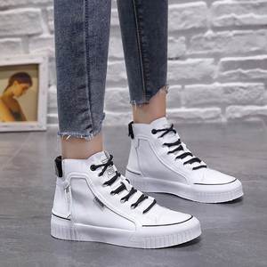 Image 4 - 2019 Fashion Sneakers for Women Breathable Platform Sneakers Women Luxury Shoes Women Designers Womens Vulcanize Martin boots