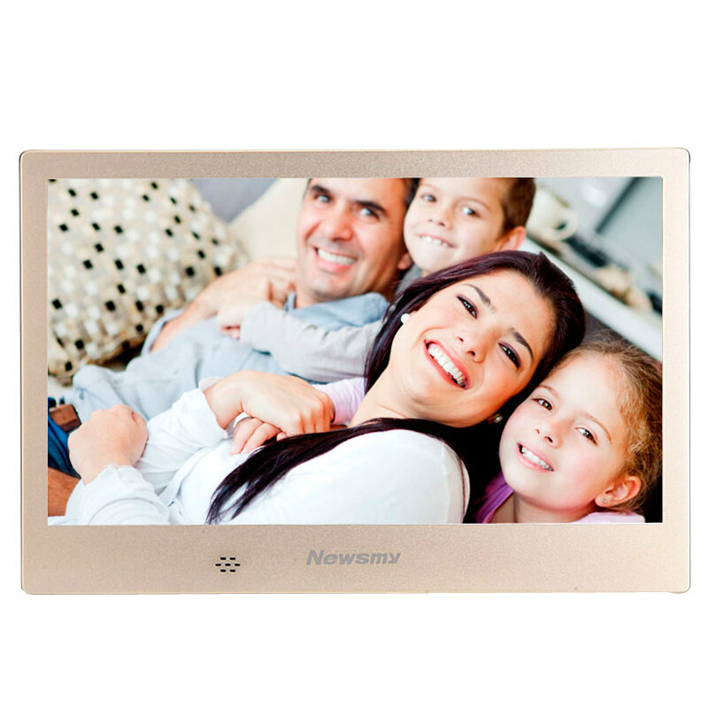 Fashion 10.1 Inch Screen LED HD 1024*600 Gift Digital Photo Frame Electronic Album Picture Music Movie Full Function Good Gift image