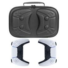 Para ps5 portátil eva viagem dura caso de transporte capa à prova choque saco armazenamento bolsa escudo para playstation 5 controlador acessórios