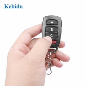 Image 3 - kebidu 433Mhz Auto Remote Control Cloning Gate for Garage Door Remote Control Portable Duplicator Key