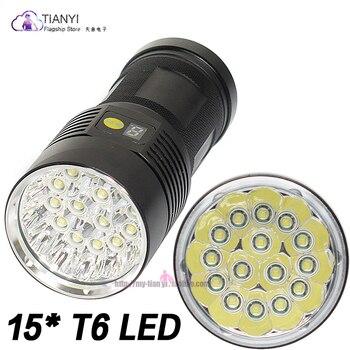цена на 72000Lums LED Lanterna LED Flashlight Torch 3 Modes USB Charging Torch Light Tactical Flashlight 3 Mode Led Outdoor LIGHT