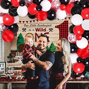 """66 шт. в красном, черном и белом цвете воздушные шары гирлянда арочный комплект красный воздушный шар """"Конфетти"""", хороший подарок на день рождения, свадьбу, вечерние поставки"""
