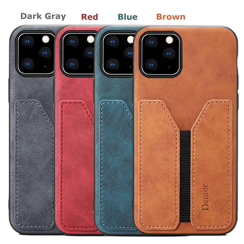 Deluxe Leather Card Holder Case for iPhone 11/11 Pro/11 Pro Max 1