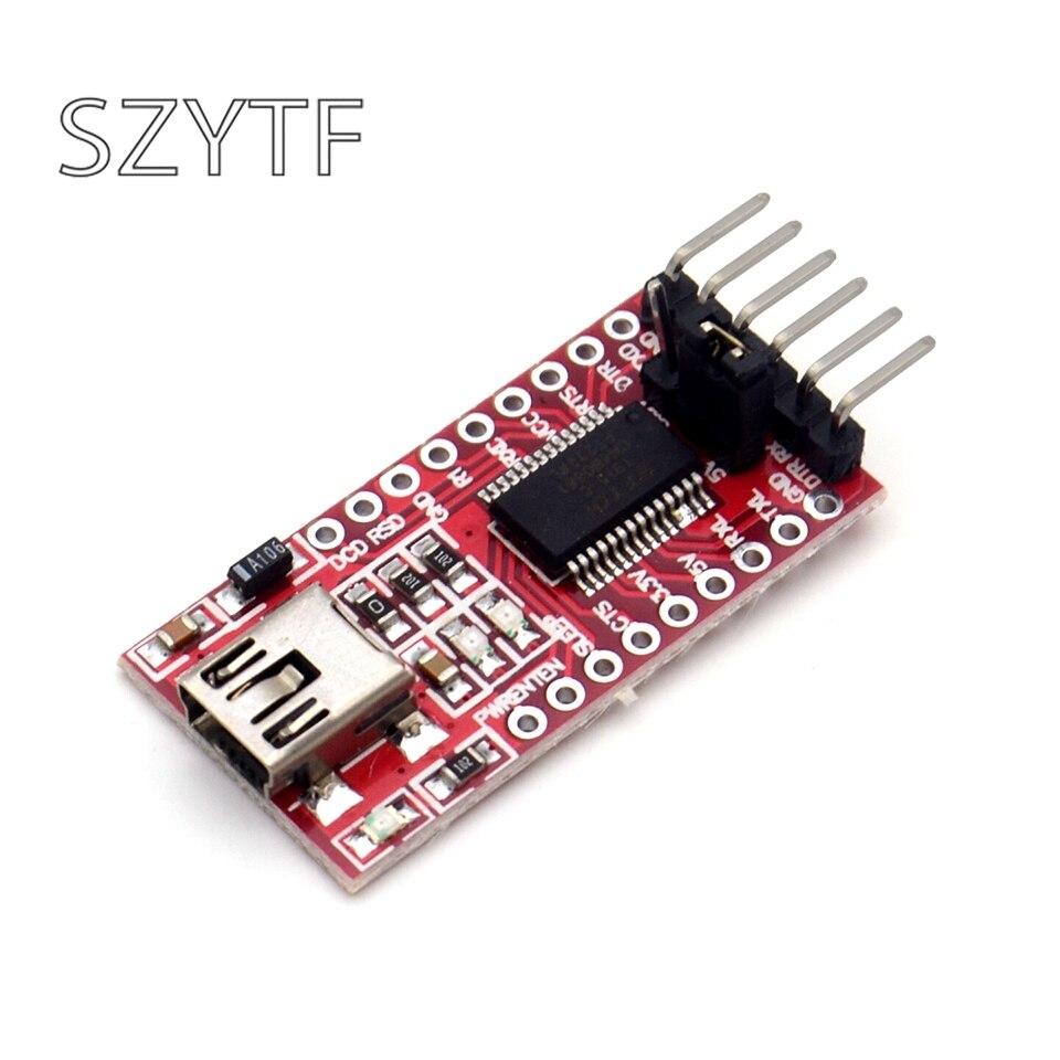 FT232RL FT232 USB для ttl 5 в 3,3 В кабель для загрузки к модулю последовательного адаптера для USB к 232