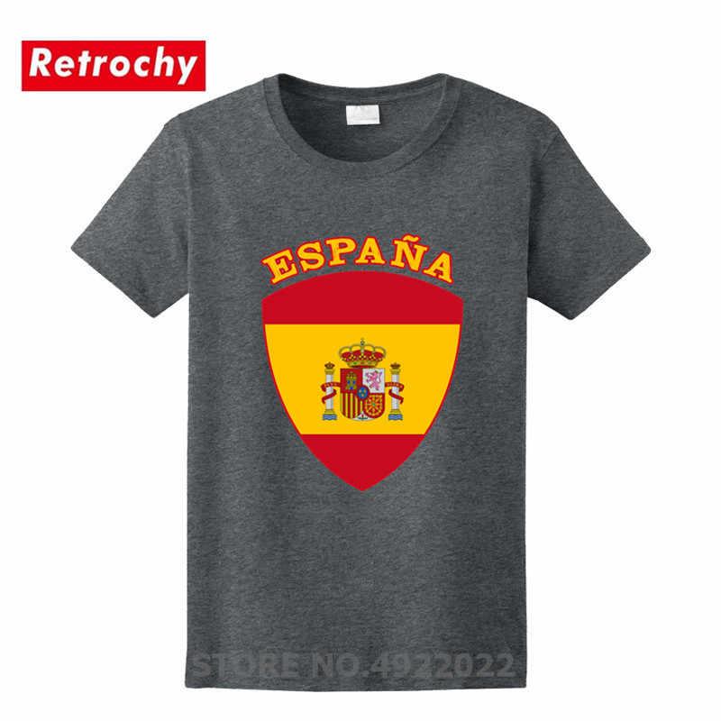 Cool España Atlético del Club de Golf camiseta hombres España Bandera de Castellanos Casillas camiseta elegante camiseta patriótica de San Valentín nuevo