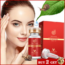 คุณภาพสูง snail100 % Essence Hyaluronic Acid Liquid Whitening Spot Essence รูขุมขน Ampoule Anti-Acne regenerative Essence(China)