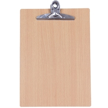 Folder Clip Document-Bag Stationary-Board Clipboard-Report Writing-Plate Wooden of PPYY-A4