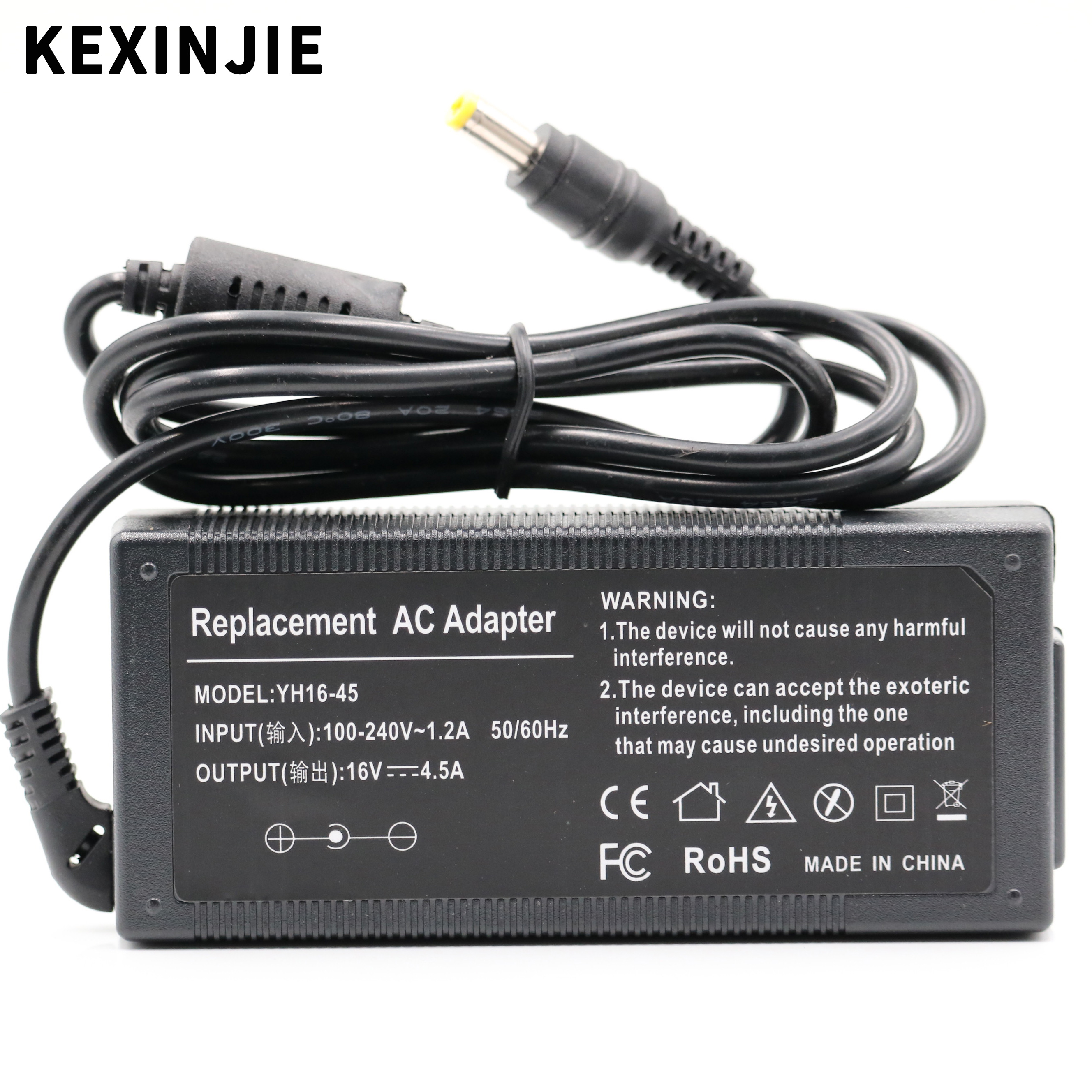 16V 4.5A 72w Universal AC Adapter Battery Charger For IBM THINKPAD T43 A31 X31 R40 T21 T41 T42 Laptop Free Shipping