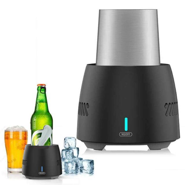 휴대용 빠른 냉각 컵 전자 냉동 쿨러 맥주 와인 음료 미니 전기 음료 쿨러 컵 인스턴트 냉각