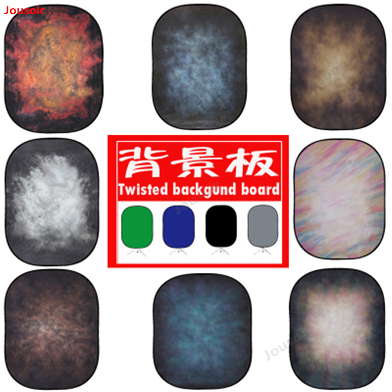 Background board double sided outside shooting photography green screen cloth 1.5*2 meters tie dyed background cloth CD50 T03|Photo Studio Accessories|   - title=