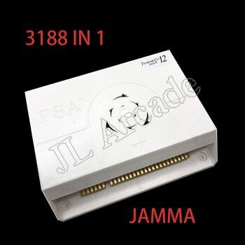 3188 w 1 Pandora Saga box 12 zręcznościowa wersja Jamma pokładzie zręcznościowa szafka Joystick maszyna monety obsługiwane HD wideo 3D gra hdmi vga