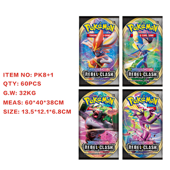 360Pcs/Box Pokemon Cards TCG: Sun & Moon Unified Minds Team Up Sword Shield Booster Box Pokemon Trade Card Sent Random Box 2