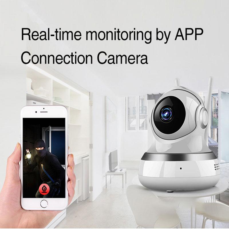 YAOSE PG-107 Wifi Gsm Home Security Alarm System App Control Remote Control window sensor With 1080P Camera kits smart alarm 6