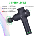Deep Tissue Massage Gun Muscle Massager Exercising Pain Relief Slimming Body Shaping Therapy Vibration Training Muscle Relax Gym