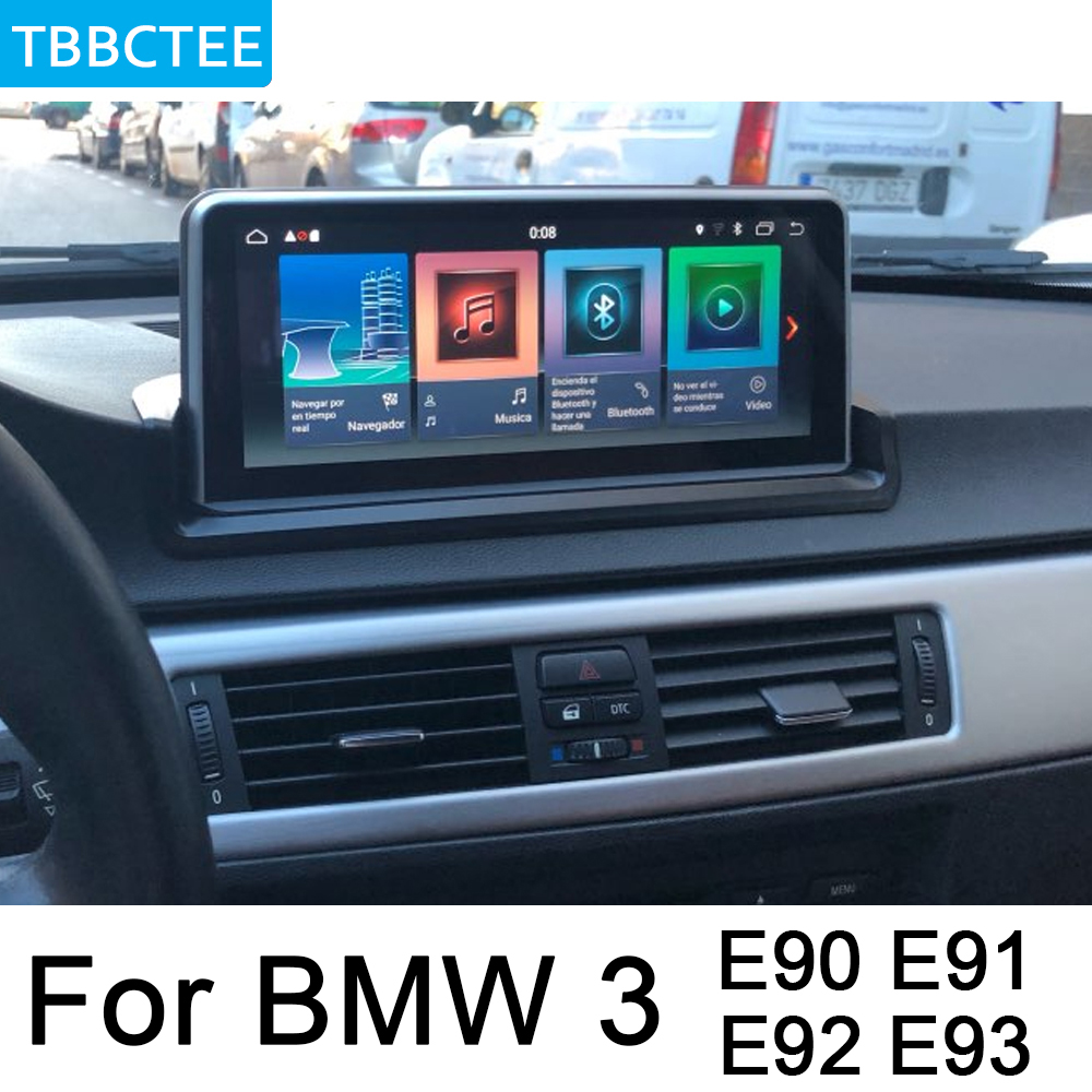 For <font><b>BMW</b></font> 3 <font><b>E90</b></font> E91 E92 E93 2005~2012 Android Car GPS DVD Navi Player Audio Stereo HD Touch Screen All in one image