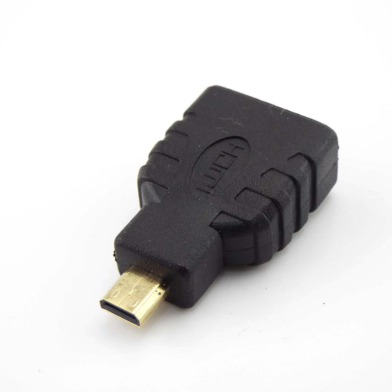 1/2/5Pcs Micro HDMI-compatible Male to Female Adapter Type D to A HD Connector Converter Adapter for Xbox 360 for PS3 HDTV L19