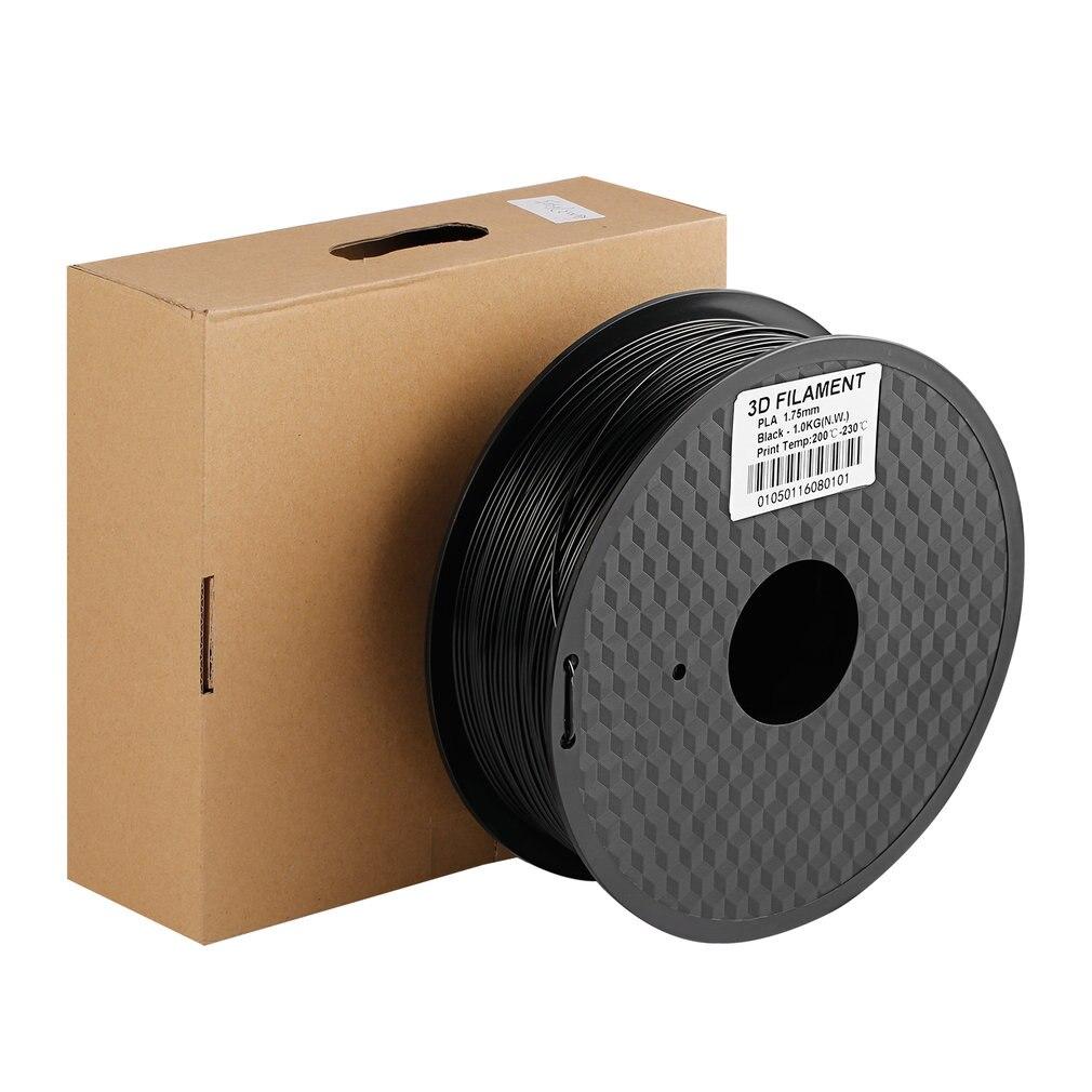 Filament 3D PLA bobine 1.75mm Filament pour imprimante d'impression 3D Non toxique Stable dans la Performance petit rétrécissement bonne ténacité