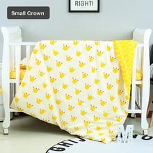 Baby Bed Duvet Cover Newborn Cartoon Bedding Set 100% Cotton Quilt Cover Customized Size Infant Bed Linen ZT71