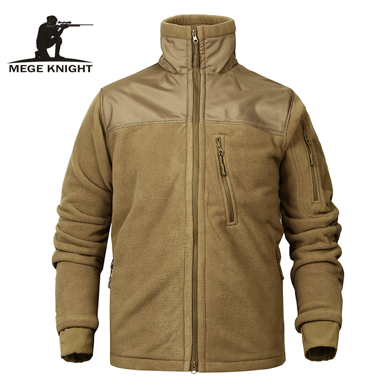 Mege Brand Tactical Fleece Jacket Military Army Clothing Men Jacket Coat Autumn Winter Warm Thick Fleece Jacket Dropshipping