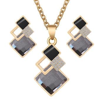 Fashion Crystal  Women's Jewelry Set  6