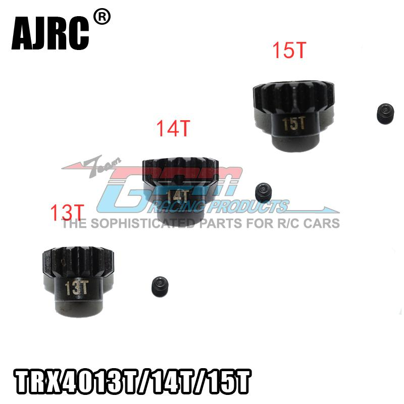 TRAXXAS TRX-4 Defender Bronco G500 TRX-6 G63 45 # Steel Motor Teeth 9T/10T/11T/12T/13T/14T/15T M0.8 32P 3.17MM Motor Teeth