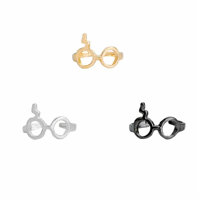 Harry yeux foudre anneaux pour femmes dame cadeaux or argent Sweety oorbellen Chic bague bijoux de mode