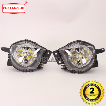For BMW 3 Series E90 E91 Sedan 325 328 335 2005 2006 2007 2008 Car-styling Front LED Fog Lights Fog Lamp with LED Bulbs image