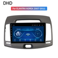 Android 9.0 Car Radio 9 IPS Multimedia Player GPS Navigation Stereo For 2007 2008 2009 2010 2011 Hyundai Elantra Korea Version