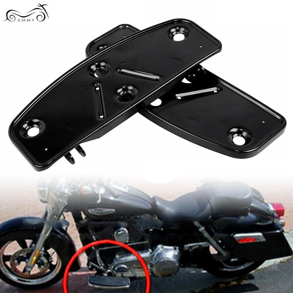 Plancher de moto plancher pieds planches fond pour Harley Touring Softail FL 1986-2017 route roi FLD 2012-2016 Trike modèles