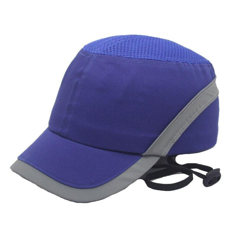 Image 5 - New Bump Safe Cap Baseball Hat Style Protective Hi Viz Anti collision Hard Hat Helmet Head Protection Work Safety RepairingSafety Helmet   -