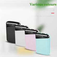 Power Bank 20000mah External Portable Battery Powerbank Bank Power Batteri Charger Portabl Waterproof LED LCD for Xiaomi Iphone