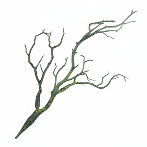 Image 3 - 1pc 35cm Dry Artificial Fake Foliage Plant Tree Branch Wedding Home Church Office Furniture Decoration Peacock Coral Branches