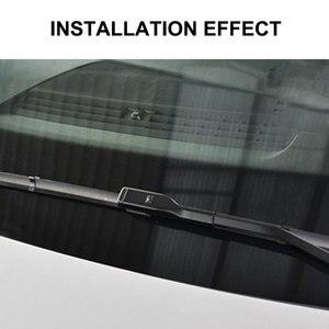 Image 5 - Para skoda fabia 3 nj 2015 2016 2017 2018 2019 2020 mk3 acessórios do carro frente windscreen limpador lâminas escovas cortador peças de automóvel