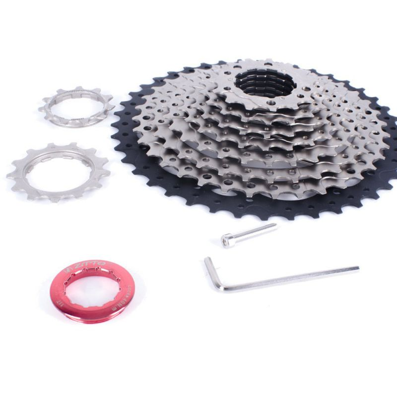 Professional High-quality Mountain Bike Bicycle Part Sprocket <font><b>Cassette</b></font> Flywheel Gear Extended Tail Hook image
