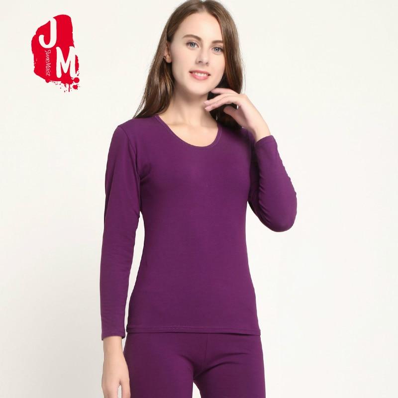 Warm Thermal Underwear Women Velvet Long Johns Thermal Underwear For Women Winter Thick Long Sleeve Sleep L XL XXL XXXL