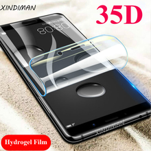 XINDIMAN 35D Full hydrogel film for huawei mate10 mate9 Front or back screen protector mate10pro mate10lite soft