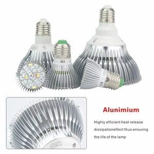 Image 4 - Светодиодный Grow светильник E27 полный спектр 18 Вт 28 Вт 30 Вт 50 Вт 80 Вт для гидропоническая посадка светильник AC85 265V 110V 220V Светодиодный лампа для выращивания растений с питанием от источника