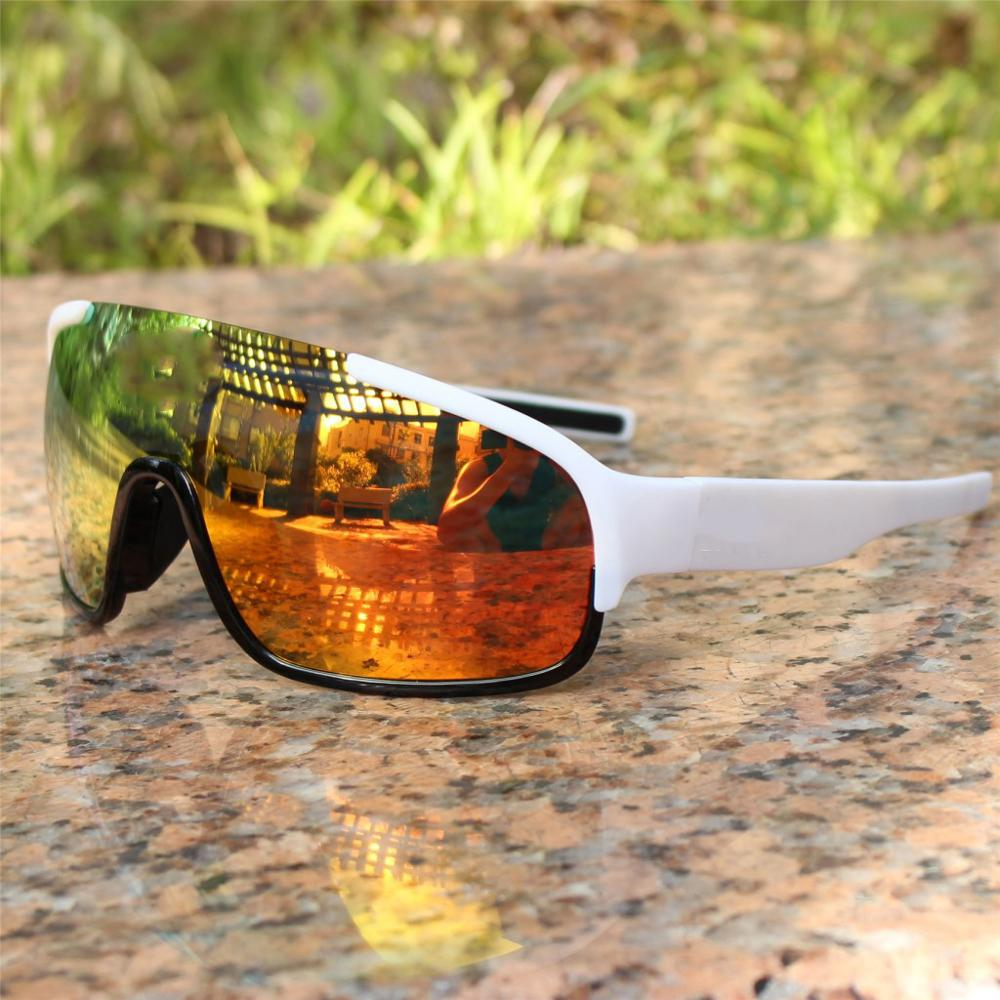 3 Lens Polarized Glasses Outdoor Sunglasses Cycling Men's Glasses Bicycle Sunglasses Men Oculos Ciclismo Juliete Oculos