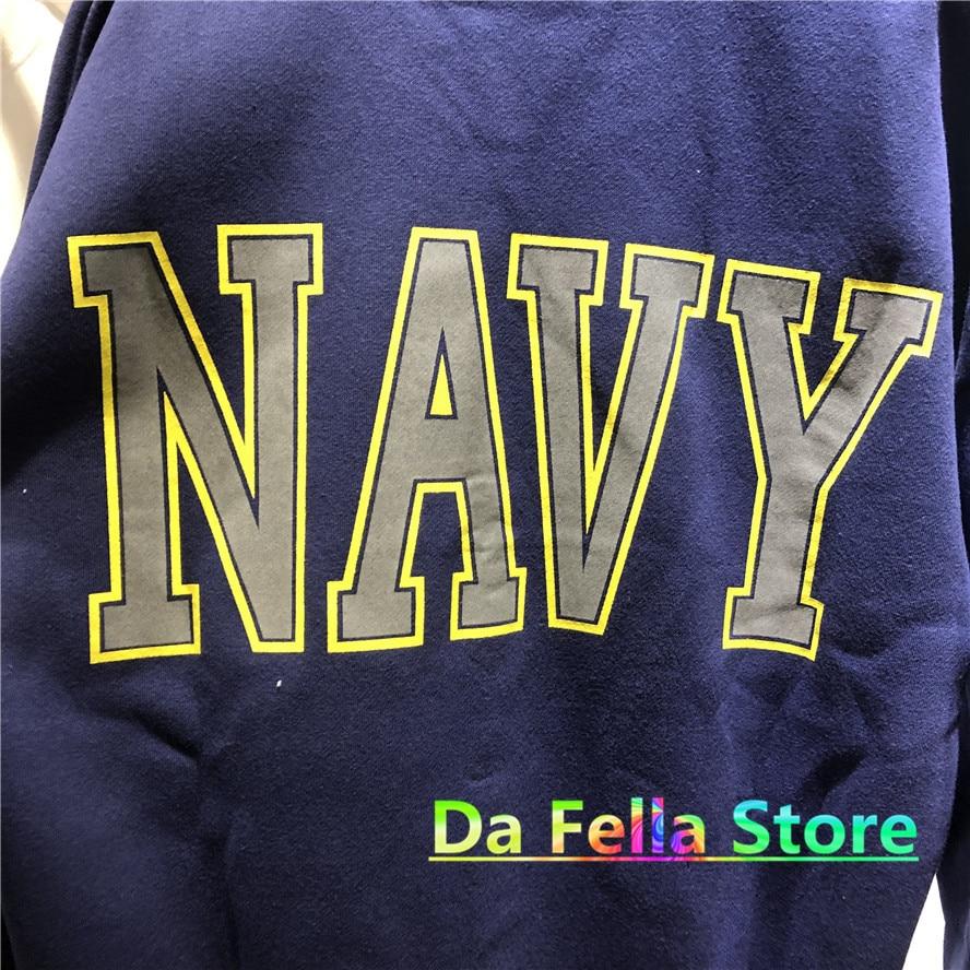 Jesus is king Kanye West United States Navy Reflective Logo Sweatshirts Hoodie  6