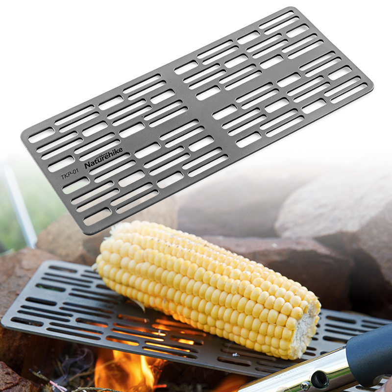 Titanium BBQ Grill Mat Cooling Rack Non stick Baking Rack Grill with Carry Bag