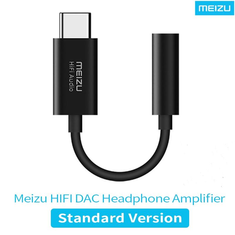 Meizu HiFi DAC усилитель наушников Type-C до 3,5 мм аудио адаптер Cirrus Logic CS43131 чип 600Ω PCM 32bit/384k DSD128