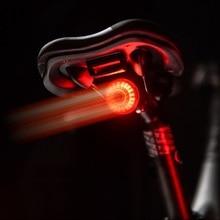 TWOOC feu arrière de bicyclette à détection automatique, chargeur USB, lampe pour le cyclisme de nuit, vtt, cyclisme sur route, lampe de sécurité LED